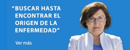Buscar hasta encontrar el origen de la enfermedad : Elena Corrales