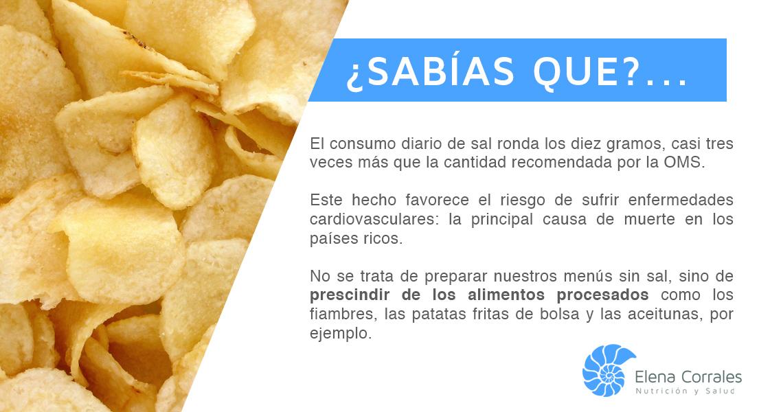 12. TOMAMOS EXCESO DE SAL