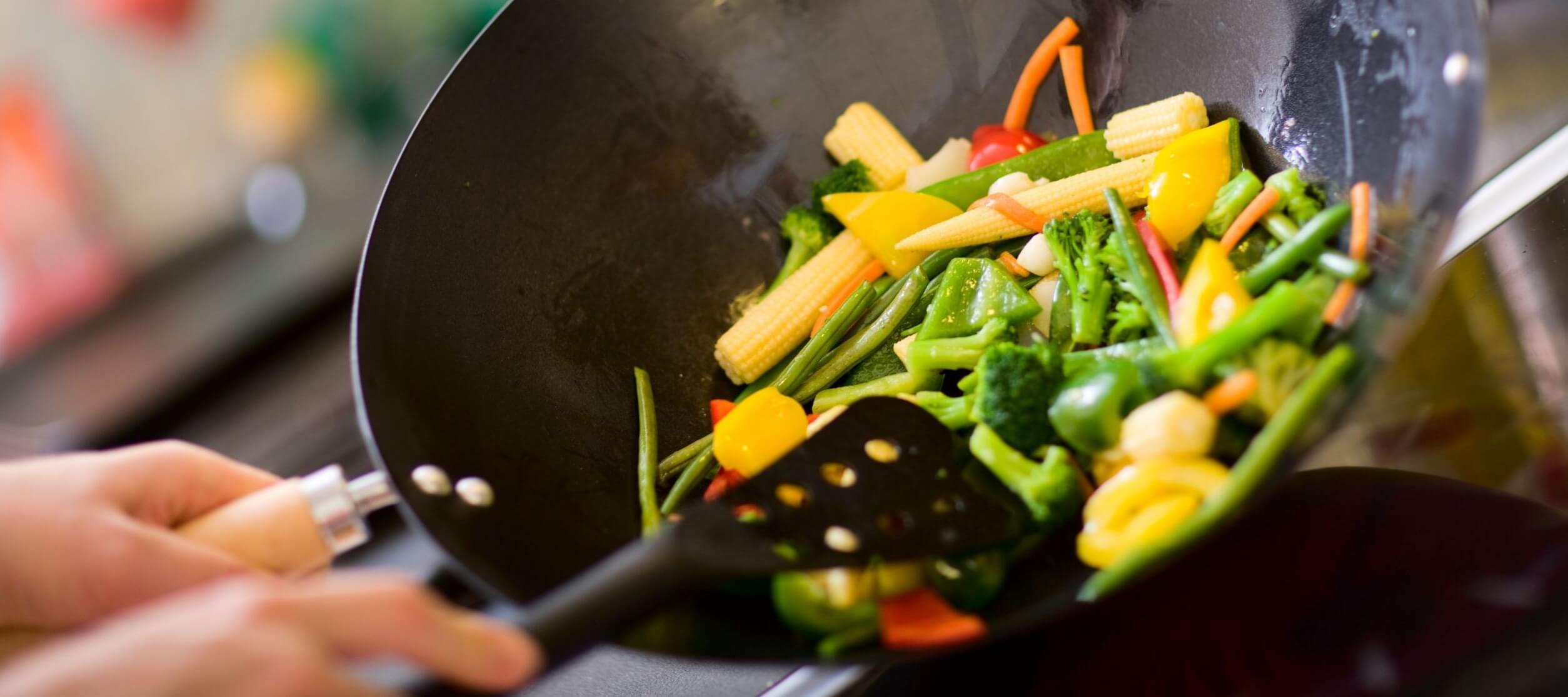 Wok-Cooking