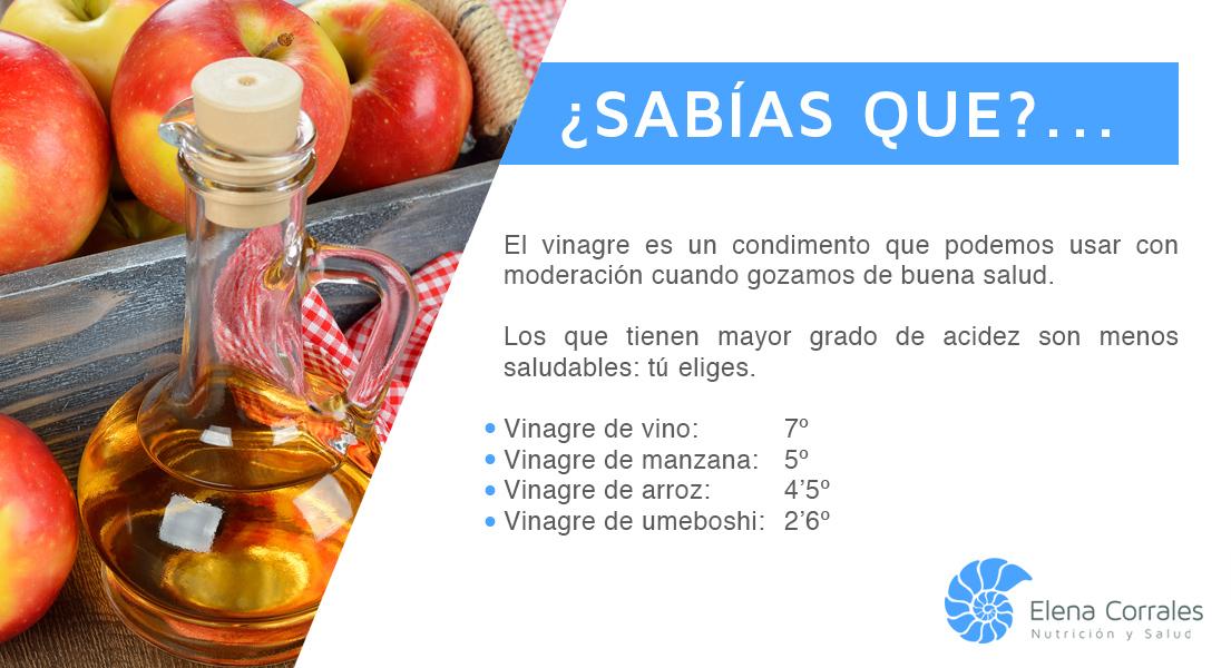 14. NO TODOS LOS VINAGRES SON IGUALES
