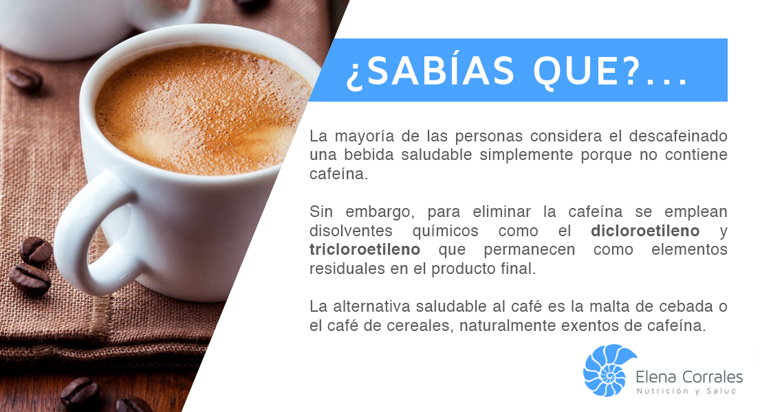 19. EL DESCAFAINADO, ALTERNATIVA AL CAFÉ