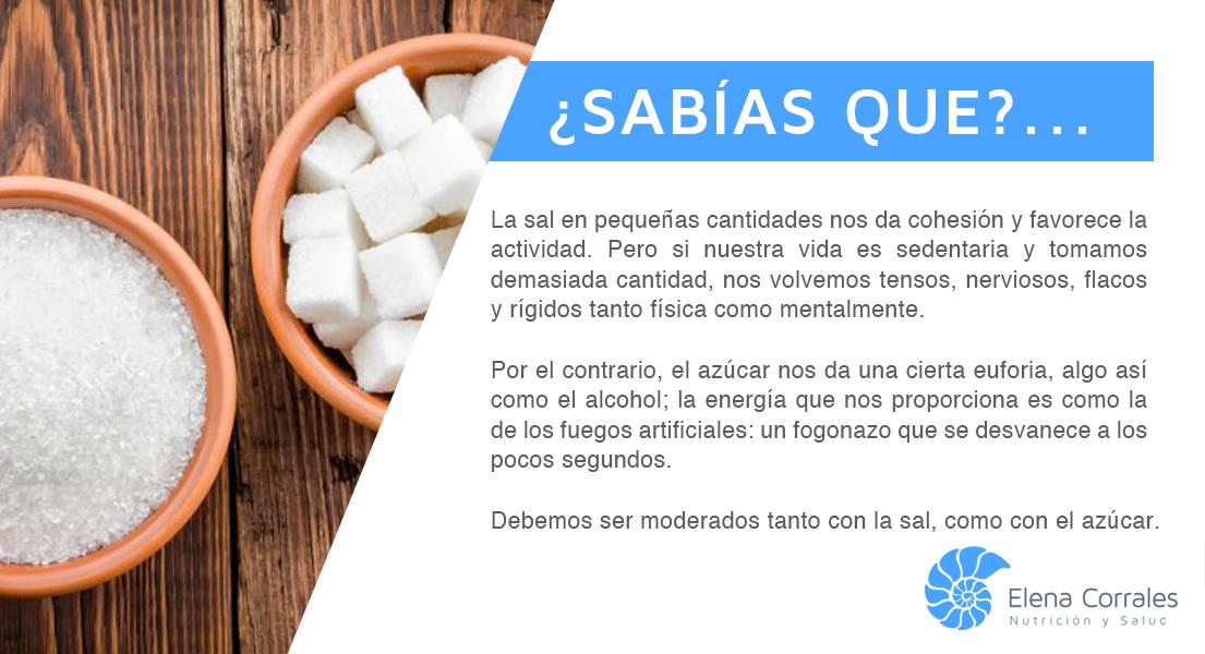 56. LOS EFECTOS DE LA SAL Y DEL AZÚCAR