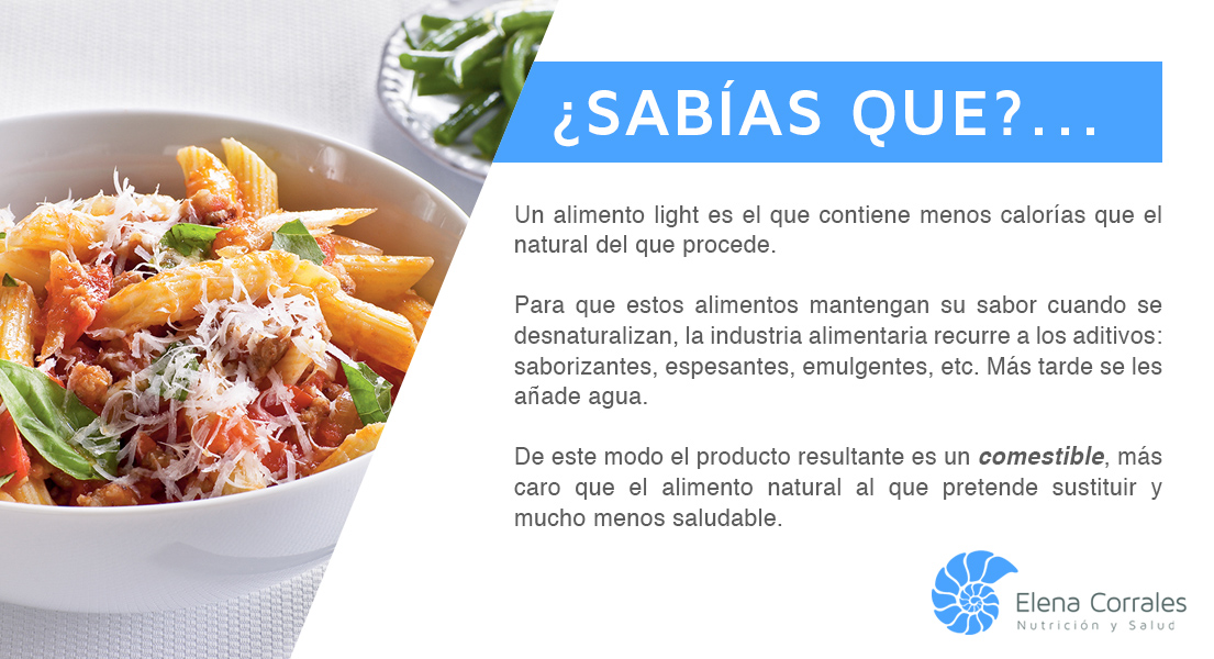 60. LOS ALIMENTOS LIGHT